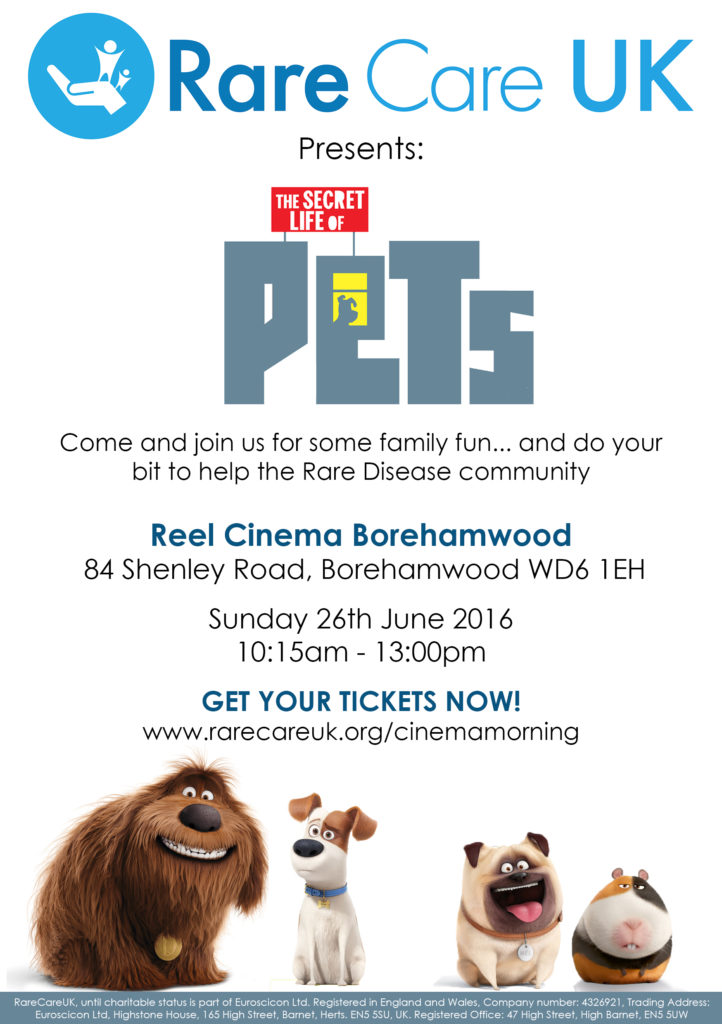 Life of Pets Ticket Flyer
