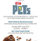 Rare Care UK Cinema day